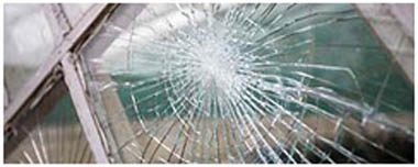 Stoke On Trent Smashed Glass